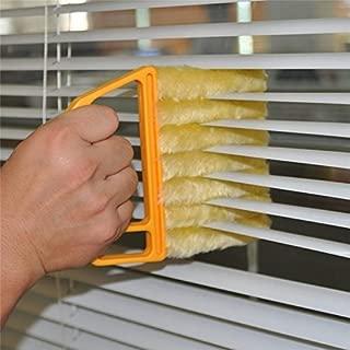 Yevison Premium Quality 7 Brush Venetian Blind Clean Dust Cleaner Slats Mini Duster
