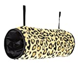 Ware Manufacturing Crinkle Hang-N-Tunnel Sleeper for Small Animals - Colors...