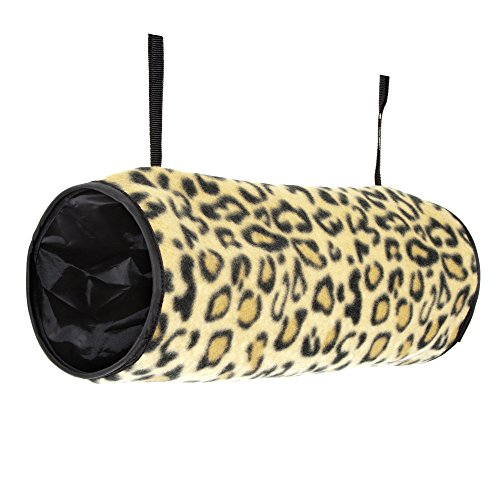 Ware Manufacturing Crinkle Hang-N-Tunnel Sleeper for Small Animals - Colors May Vary