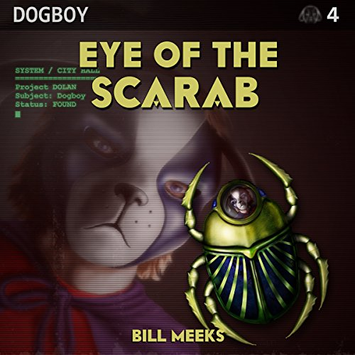 Eye of the Scarab audiobook cover art
