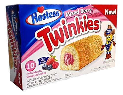 Hostess Mixed Berry Twinkies Limited Edition 385 g
