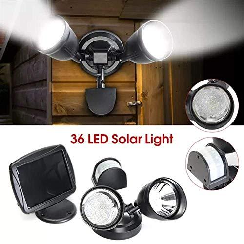 CKQ-KQ Buitenverlichting 36 LED Solar Power PIR Motion Sensor Spot wandlamp Outdoor Dual Veiligheid Lamp van de Vloed waterdichte Lamp