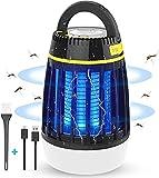 WloveTravel Lampe Anti Moustique, 3 en 1 Lampe UV Tueur de Moustiques et Lampe Camping Lanterne LED, Lampe...