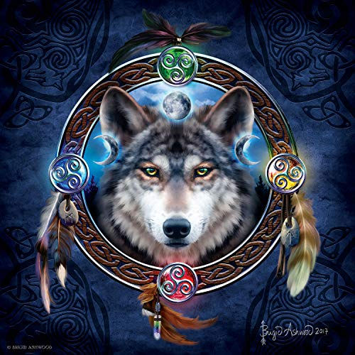 Celtic Wolf Guide 1000 pc Jigsaw Puzzle by SunsOut