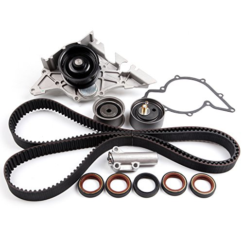 ECCPP Timing Belt Water Pump Kit Fit for 2000-2004 for Audi A6 Quattro 2001-2005 for Audi Allroad Quattro 2000-2002 for Audi S4