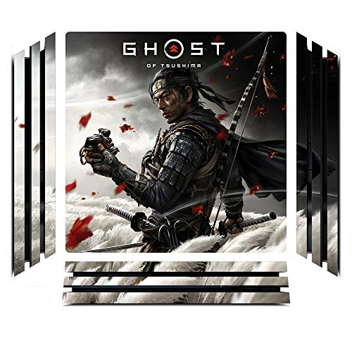 Ghost of Tsushima Game Skin for Sony Playstation 4 Pro - PS4 Pro Console