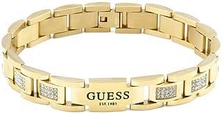 Guess- Bracciale da uomo Hero, dorato, UMB79005