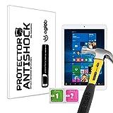 Protector de Pantalla Anti-Shock Anti-Golpe Anti-arañazos Compatible con Tablet Teclast X98 Plus II Dual OS