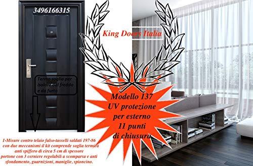 doors Porta Blindata per Esterno casa Appartamento MOD 137
