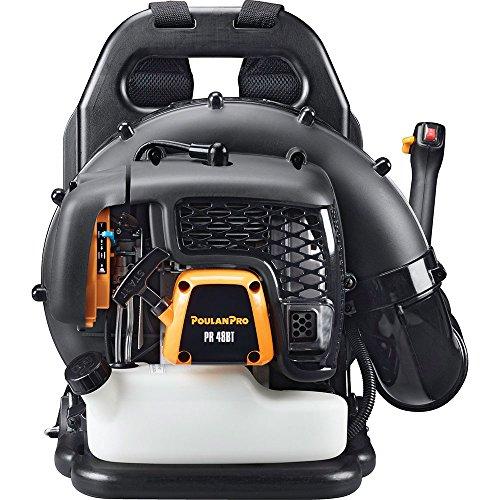 Poulan Pro PR48BT, 48cc 2-Cycle Gas 475 CFM 200 MPH Backpack Leaf Blower