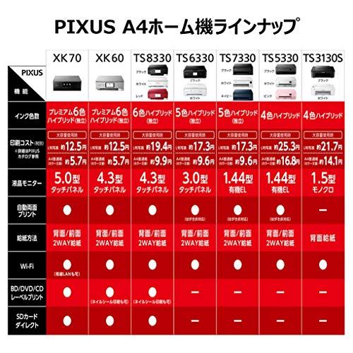 CanonプリンターA4インクジェット複合機PIXUSTS7330ネイビー2019年モデル