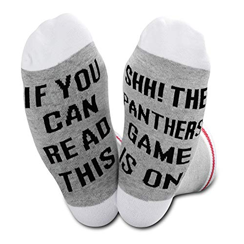 The Panthers Football Socks Team Socks If You Can Read This The Panthers Game Is On Socks, U.Panthers, M