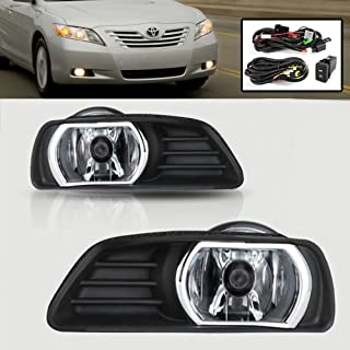 Remarkable Power FL7011 2007 2008 2009 Toyota Camry Clear Fog Lights Bumper Lamps Kit Switch Wiring