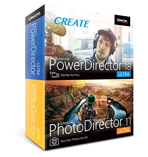 Cyberlink PowerDirector 18 and PhotoDirector 11 Ultra