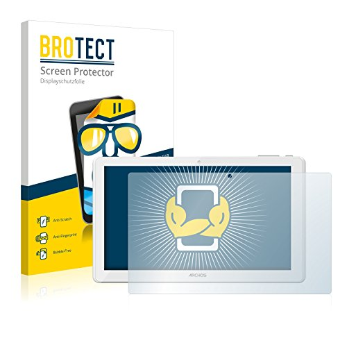 BROTECT Schutzfolie kompatibel mit Archos 101d Neon (2 Stück) klare Bildschirmschutz-Folie