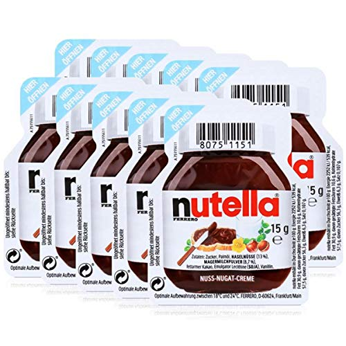 10 Nutella - 10 x 15g Portion