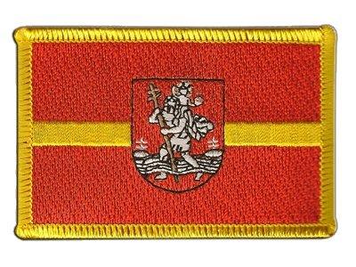 Aufnäher Patch Flagge Litauen Vilnius Wilna - 8 x 6 cm