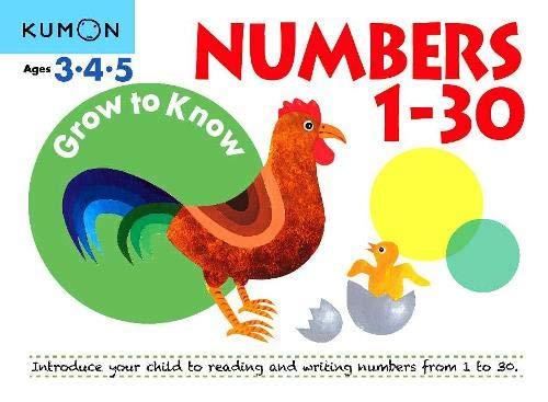 Grow to Know Numbers 1 Thru 30 (Grow to Know Workbooks)