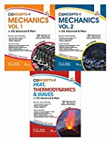 Concepts of Class 11 Physics for JEE Advanced & Main - (Mechanics, Thermodynamics and Waves)