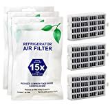 AIR1 W10311524 Freshflow Refrigerator Air Filter Replacement for Whirlpool-3 Pack