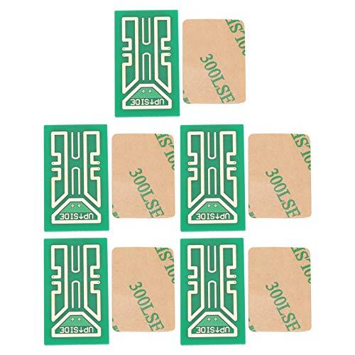 5 pezzi adesivi per il potenziamento del segnale del telefono cellulare esterno, amplificatori per il miglioramento del segnale del telefono cellulare per la prevenzione del cattivo canto, accessori i