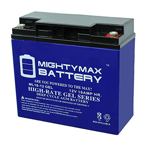 Mighty Max Battery 12V 18AH Gel Battery Replacement for Troy-Bilt 8000 Watt Generator Brand Product