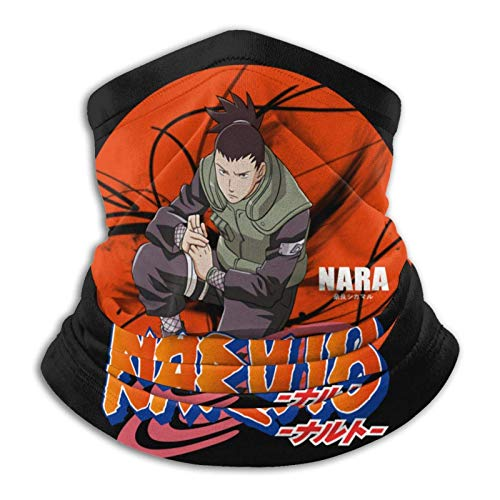 AmyNovelty Scarf Headband,Nara Shikamaru N-Aruto Sweatband, Cómodos Pañuelos para Montar A Caballo,26x30cm