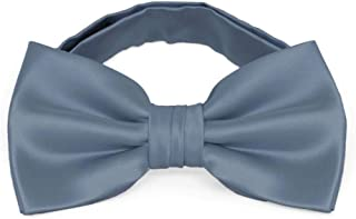 dusty blue bow tie