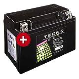 YTX9-BS Tecno Gel-bateria para Lt-Z 400 Deporte Quad Año 2003-2017
