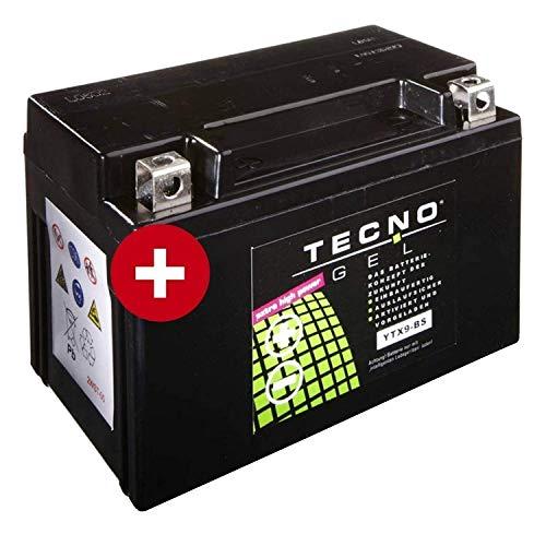 YTX9-BS TECNO GEL-Batterie für GSF 600 Bandit Baujahr 1995-2004