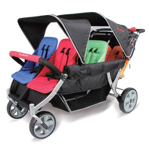 Famililyoo Kinderwagen für 6-Sitzer, strapazierfähig