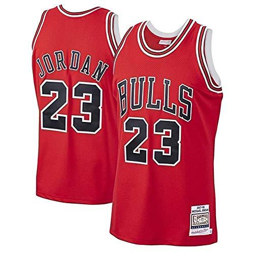 Fei Fei Camiseta de Baloncesto Michael Jordan # 23 Chicago Bulls para...