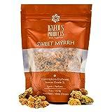 Igneous Products Myrrh Resin (113.4 grams) | Catholic Incense | Monastery Incense | Sweet Myrrh...