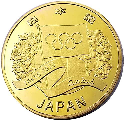記念コイン日本コイン2020年東京オリンピック記念コイン日本オリンピックの落札記念コイン平成32年ゴールド,銀 (Gold)
