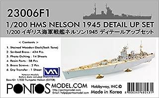 Pontos Model.com 1/200 HMS NELSON 1945 Detail Up Set 23006F1