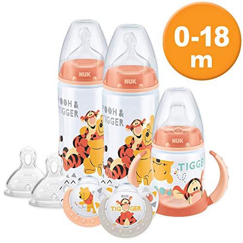 NUK Winnie The Pooh botella y taza conjunto (0–18M)