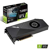 Asus GeForce RTX 2060 Super 8G Turbo Edition GDDR6 HDMI DisplayPort Graphics Card (TURBO-RTX2060S-8G-EVO)