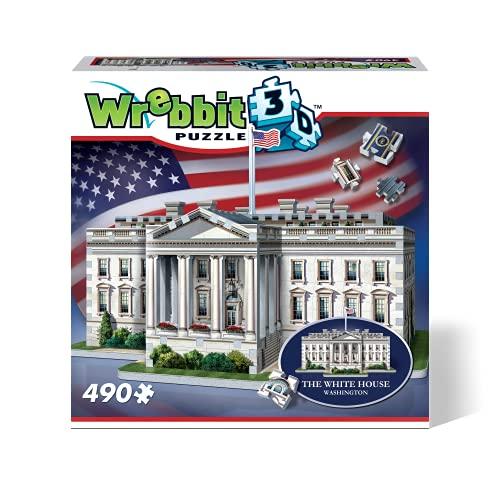 Wrebbit 3D-la Casa Blanca Puzzle 3D, Multicolor (W3D-1007)