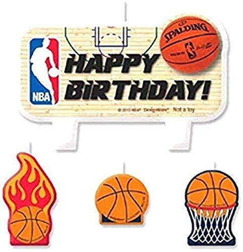 Amscan 172554 NBA Collection Birthday Cake Candle Set | 1 Set