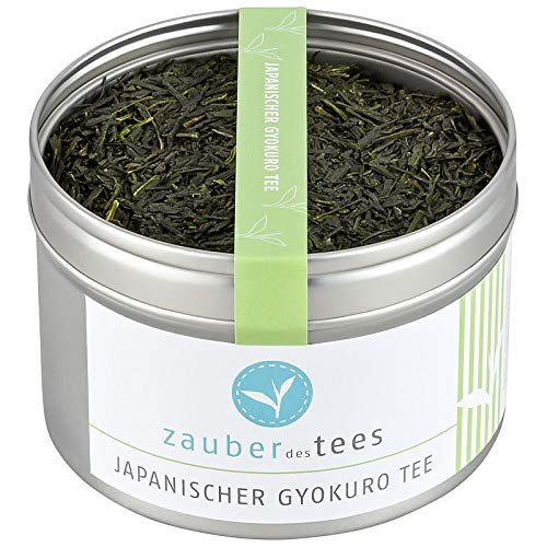 Zauber des Tees Japanischer Gyokuro Tee Bio, 100g