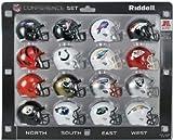 Riddell NFL AFC 16Konferenz Tasche Größe Helm Set -