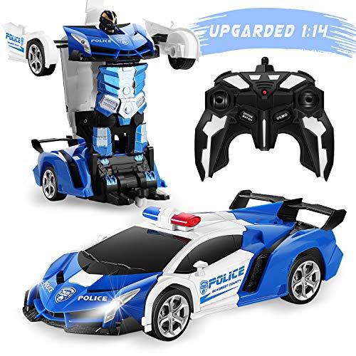 FIGROL Transform Car Robot, Robot Deformation Car Model Toy for Children,...