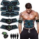 SHENGMI Electroestimulador Muscular, Abdominales Cinturón, Estimulador Muscular Abdominales, ABS...