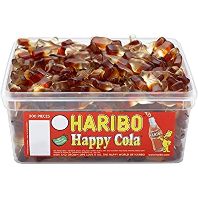 haribo happy cola jelly sweets - 300 pack Haribo Happy Cola Jelly Sweets – 300 Pack 51khdzZjN4L