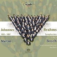 Symphonies No.2 & 3 by JOHANNES BRAHMS