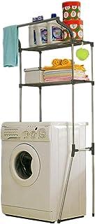 Home Equipment Armoire autoportante avec sol blanc Le casier de salle de bain économise de l'espace Organisateur de buande...