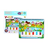 Mini IPad Toy Learning Machine Story Machine Puzzle Game Simulation Tablet Pointing Machine Alphabet Number Early Education Boy Girl Toy -