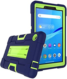 Cherrry Case for Lenovo Tab M7 Tablet Case, Heavy-Duty Drop-Proof and Shock-Resistant Rugged Hybrid case(with Built-in Sta...