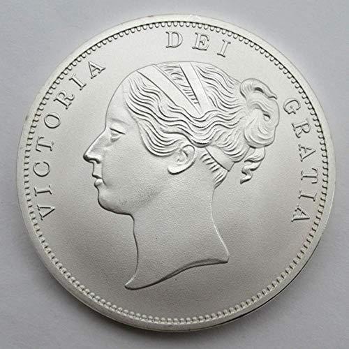 Yoin Victoria Goddess Britannia Silber Platte Gedenkmünze UK Andenken Münzen Metallhandwerk