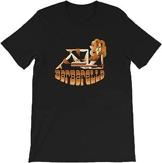 Barbarella Raygun Science Fiction Jane Fonda Fantasy Movie Heroine 60s Funny Gift Men Women Unisex T-Shirt